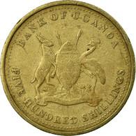 Monnaie, Uganda, 500 Shillings, 1998, Royal Canadian Mint, TB+, Nickel-brass - Ouganda