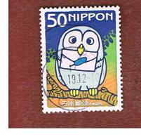 GIAPPONE (JAPAN) - SG 3250 -    2004  LETTER WRITING DAY: OWL    - USED° - 1989-... Imperatore Akihito (Periodo Heisei)