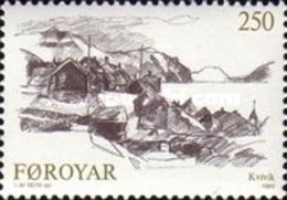 USED STAMPS Faroe-Islands - Faroese Villages -  1982 - Faroe Islands