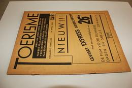 #20807 [Boek - Tijdschrift] Toerisme, Twaalfde Jaargang, 16 April 1933, Nr 8 Dikkebus Vijver Maurits Derolez Halley - Tourisme