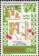 "USED STAMPS Faroe-Islands - The ""Harra Pætur And Elinborg"" Dance Song -  1982 - Faroe Islands"