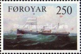 USED STAMPS Faroe-Islands - Early DFDS Steamships -  1983 - Faroe Islands