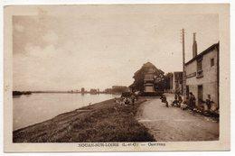 St LAURENT-NOUAN --NOUAN /LOIRE-1949--Cavereau ( Animée)--timbre --Beau Cachet Recette Rurale.......à Saisir - France