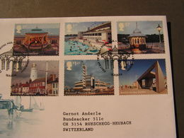 GB FDC  Piers 2014 - FDC