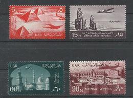 EGIPTO YVERT AEREO  81/84   MNH  ** - Aéreo