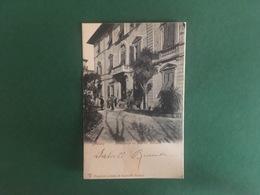 Cartoline Massa - Hotel Massa Sul Viale XX Settembre - 1908 - Massa