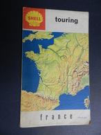 2.1) FRANCIA FRANCE CARTA STRADALE TOURING 1964 - Carte Stradali
