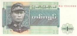 1 Kyat Myanmar 1989 - Myanmar