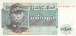 1 Kyat Burma 1974 - Myanmar