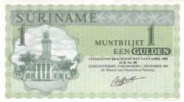 1 Gulden Suriname 1986 - Surinam