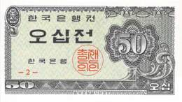50 Jeon Südkorea 1962 - Korea, South