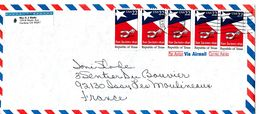 Lettre, Cover USA Vers La France - Lettres & Documents