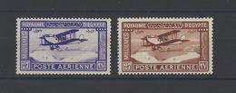 EGYPTE. YT   PA N° 1-2  Neuf *  1926 - Poste Aérienne