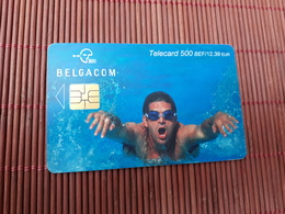 Phonecard Sport 500 BEF Low Issue Used - Mit Chip