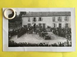 RARE Photo Animée De NEXON   ( 87 )  Obsèques De Maquisards Durant La Guerre 39/45     ( B )   ( BCPAHV6491 ) - France