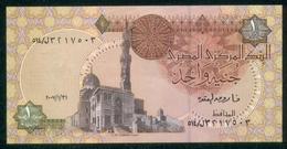 EGYPT / ONE POUND / DATE : 31-1-2007 / P-50(8) / PREFIX : L514 / SULTAN QUAYET BEY MOSQUE / ABU SIMBEL TEMPLE / UNC. - Egipto