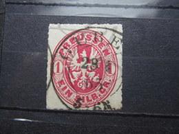 """VEND BEAU TIMBRE DE PRUSSE N° 17 , CACHET """" GUBEN """" !!! - Preussen"""
