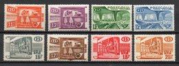 BELGIE 1950/52 POSTPAKKET ZEGELS SERIE//REEKS POSTFRIS FRAICHEUR POSTALE  MLH * - Chemins De Fer