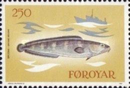 USED STAMPS Faroe-Islands - Fishing Industry -  1983 - Faroe Islands