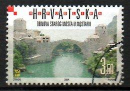CROATIE. N°649 Oblitéré De 2004. Pont De Mostar. - Bridges