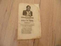 Chansonnier Chanson Patriotique Pour L'an 1884 Aubert Napoléon 8 Pages - Musique & Instruments