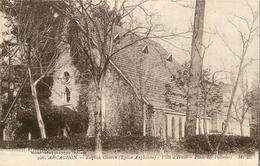 ARCACHON EGLISE ANGLICANE VILLE D'HIVER PLACE DES PALMIERS ENGLISH CHURCH - Arcachon