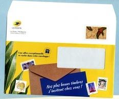 2019  Phil@poste Enveloppe De Service Neuve - Postal Stamped Stationery