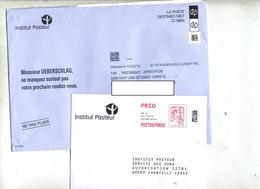 Pap Reponse Ciappa Institut Pasteur + Destineo - Ganzsachen