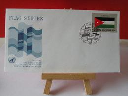 Nations Unies > Office De Genève - Jordan (Jordanie)- 19.9.1986 - FDC 1er Jour - Geneva - United Nations Office