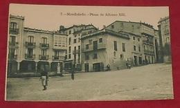 Mondonedo - Plaza De Alfonso XIII  :::: Animation  -------------- 489 - Lugo