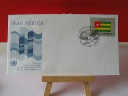 Nations Unies > Office De Genève - Togo - 19.9.1986 - FDC 1er Jour - Office De Genève