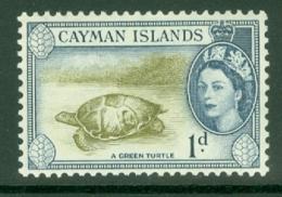 Cayman Islands: 1953/62   QE II - Pictorial   SG150   1d     MH - Kaimaninseln