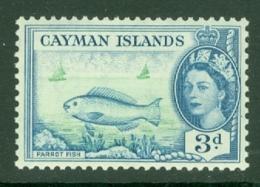 Cayman Islands: 1953/62   QE II - Pictorial   SG154   3d     MNH - Kaimaninseln