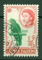 Cayman Islands: 1962/64   QE II - Pictorial   SG165   ¼d  Emerald & Red    Used - Iles Caïmans