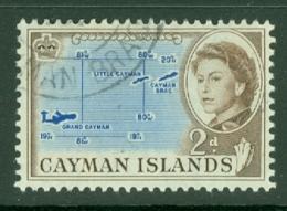 Cayman Islands: 1962/64   QE II - Pictorial   SG168   2d     Used - Cayman Islands