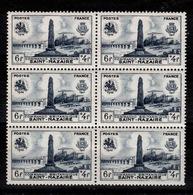 YV 786 N** En Bloc De 6 Timbres Cote 4,80 Euros - Unused Stamps
