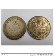 FAUX : ECU ROYAL LOUIS XIV (8 L) - 1690 - SUPERBE Réplique  -  COPIE - France