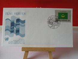 Nations Unies > Office De Genève - Mauritania (Mauritanie) - 19.9.1986 - FDC 1er Jour - Office De Genève