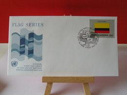 Nations Unies > Office De Genève - Colombia (Colombie) - 19.9.1986 - FDC 1er Jour - Office De Genève