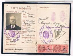 FRANCE CARTE IDENTITE PIERRE BRENAC 1940 MAZAMET  CH61 - Documents Historiques