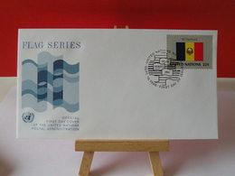 Nations Unies > Office De Genève - Romania (Roumanie) - 19.9.1986 - FDC 1er Jour - Office De Genève