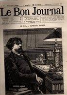 Le Bon Journal N°373 Le Bac Par Alphonse Daudet - Le Gros Lot Par Xavier De Montépin - Jeux D'esprit De 1889 - Periódicos