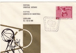 1966 FESTIVAL EVROPSKE KOŠARKE LJUBLJANA BASKETBALL  SLOVENIJA JUGOSLAVIJA - Slovenia