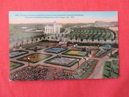 1915 Pan Pac Exposition   Formal Gardens & Citrus Grove    San Diego  California    Ref 3189 - Ausstellungen
