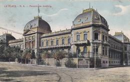 CARTOLINA - ARGENTINA - LA PLATA - R.A.- PALACIO DE JUSTICIA - DESTINATA ALLA CASERMA FARNESE ( PIACENZA - Argentina