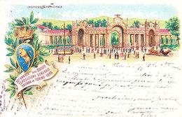 ITALIA - TORINO - Esposizione Generale Del 1898, Gruss Viag. 1898 - 2019-341,342 - Italia