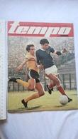 1978 TEMPO YUGOSLAVIA SERBIA SPORT FOOTBALL MAGAZINE NEWSPAPER FORMULA 1 POSTER MARIO ANDRETTI BOLID Hans Krankl AUSTRIA - Deportes