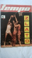 "1978 TEMPO YUGOSLAVIA SERBIA SPORT FOOTBALL MAGAZINE NEWSPAPER BASKETBALL WORLD CHAMPIONSHIP KARATE ZVEZDA Hansi"" Müller - Deportes"