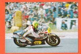 Cpasport 159 Virginio FERRARI Pilote MOTO Sur SUZUKI  500cm3 N°11 JARAMA Grand Prix D' ESPAGNE 1980s - Motociclismo