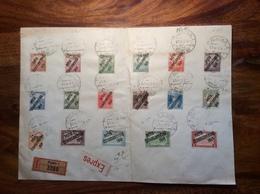 Czechoslovakia 1919 Ovpt Stamps On Cover PRAHA 1919(Tschechoslowakei Tchécoslovaquie Lettre Hungary Ungarn Hongrie Brief - Czechoslovakia